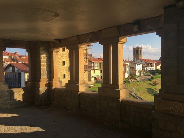 Camino del Norte - Von Zarautz nach Zumaia - Die Festung in Getaria