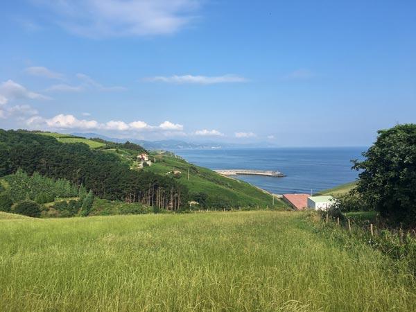 Camino del Norte - Von Zarautz nach Zumaia - Irgendwo zwischen Getaria und Zumaia