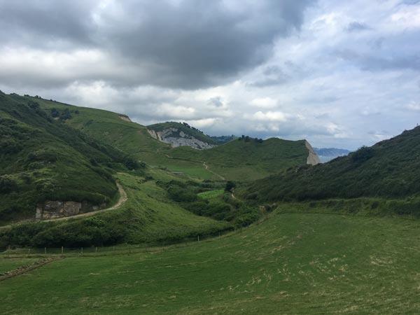 Camino del Norte - Zumaia nach Deba - Das schönste und gefährlichste Stück der Etappe
