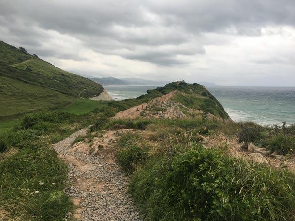 Camino del Norte - Zumaia nach Deba - Start der Alternativroute