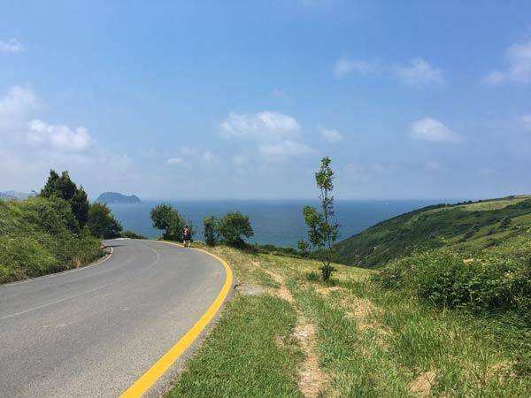 Camino del Norte - San Sebastian nach Zarautz - Kurz vor Zarautz