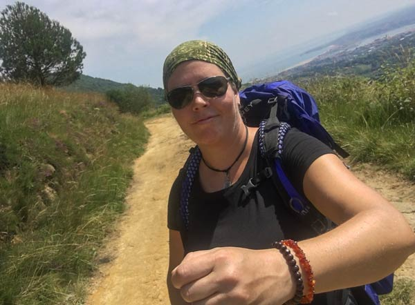 Camino del Norte - Irun nach San Sebastian - Rucksack Osprey Eja 38 l
