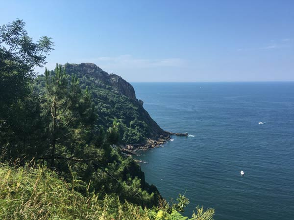 Irun nach San Sebastian - Küstenweg von Pasai Donibane nach San Sebastian