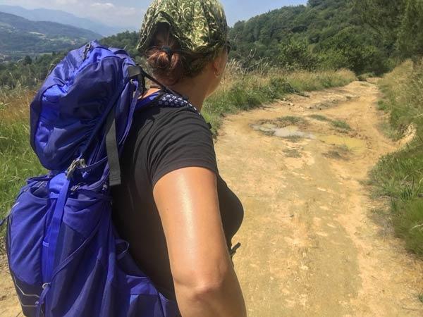Camino del Norte - Irun nach San Sebastian - Start über den Jaizkibel