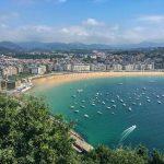 1. Etappe: Von Irún nach San Sebastián
