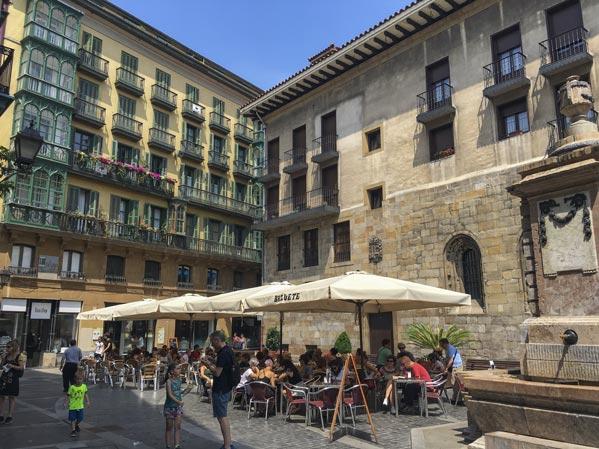 Camino del Norte - Die Altstadt von Bilbao