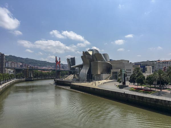 Camino del Norte - Bilbao Guggenheim Museum
