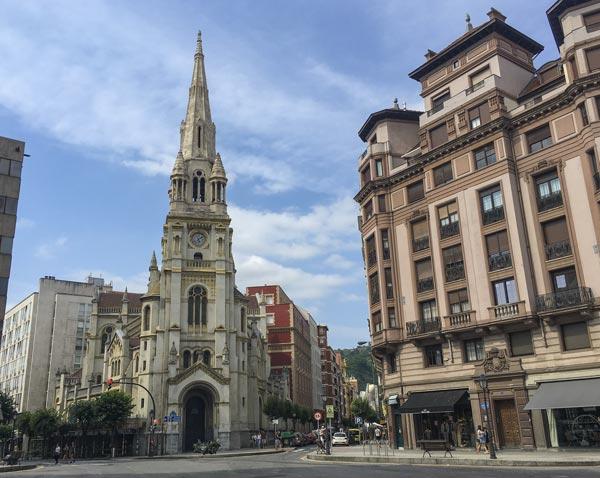 Camino del Norte - Bilbao - Kirche San Juan