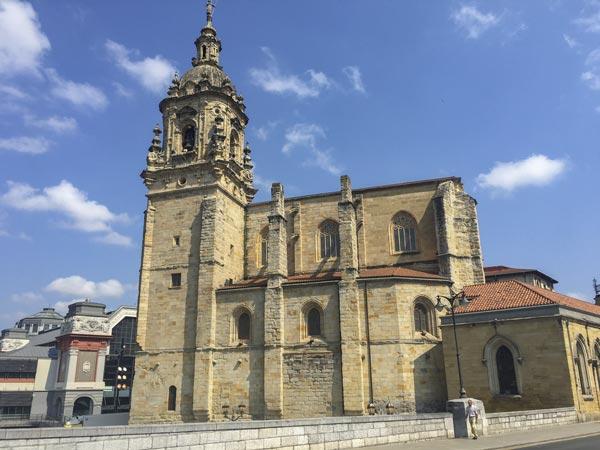 Camino del Norte - Bilbao - Kirche San Anton