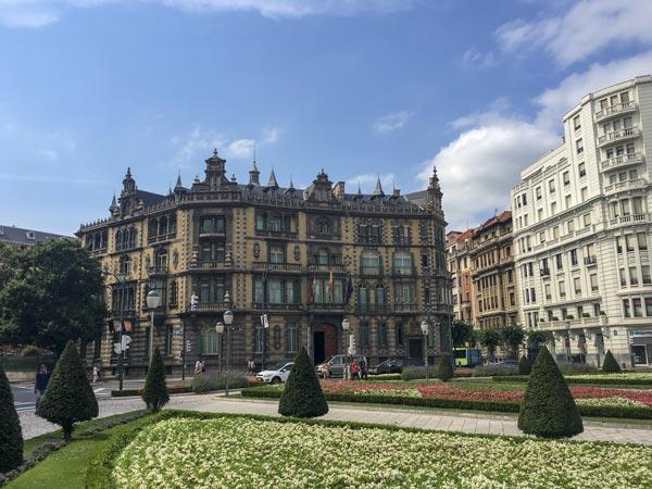 Camino del Norte - Bilbao - Plaza de Federico Moyua