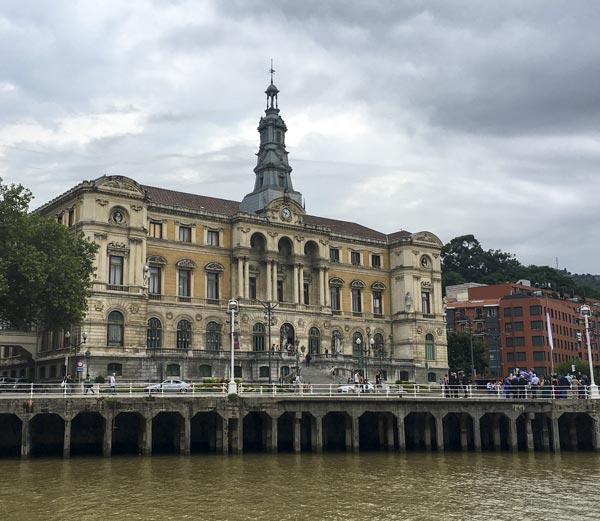 Camino del Norte - Bilbao - Rathaus