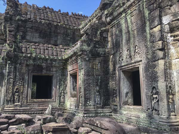 Siem Reap - Angkor - Preah Khan - Innenhof
