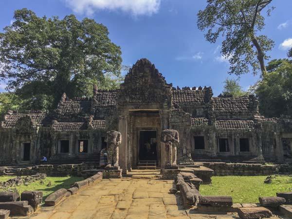 Siem Reap - Angkor - Preah Khan Vorderseite