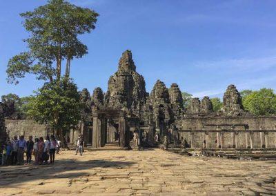 Bayon Tempel - Außenansicht