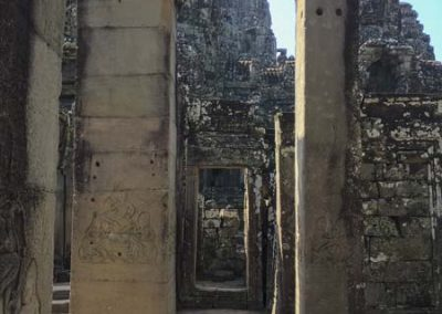 Bayon Tempel - Durchgang im äußeren Teil des Tempels