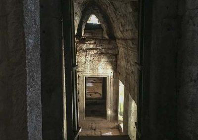Bayon Tempel - Durchgang im Inneren des Tempels