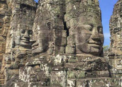 Bayon Tempel - Türme mit Gesichtern