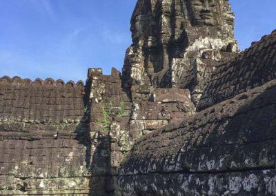 Bayon Tempel - Turm mit Gesichtern