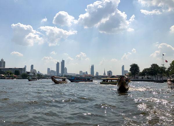 Der Chao Phraya in Bangkok