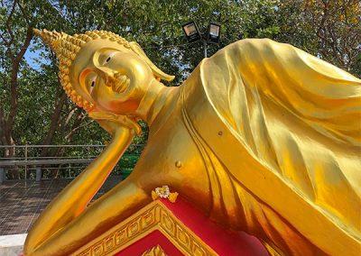 Big Buddha Tempel Pattaya - Reclining Buddha