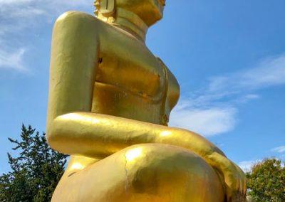 Big Buddha Tempel Pattaya - großer goldener Buddha