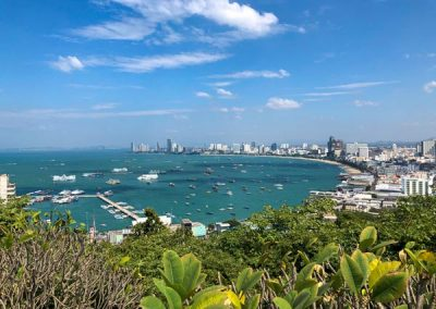 Pattaya vom Phra Tamnak Mountain
