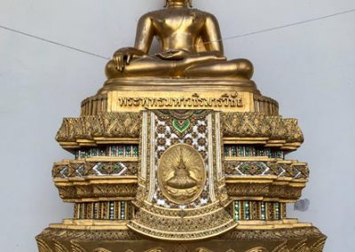 Phra Pathom Chedi - Buddha-Statue