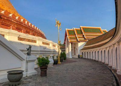 Phra Pathom Chedi - Innenhof