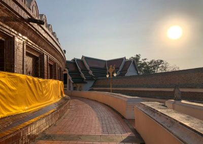 Phra Pathom Chedi - Rundgang um den Chedi