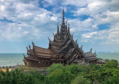 The Sanctuary of Truth Pattaya Außenansicht