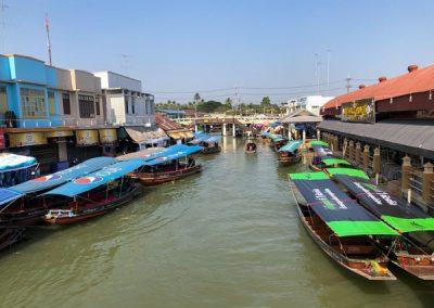 Amphawa Floating Market - Railway market