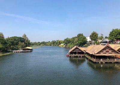 Kanchanaburi - Der Fluss Kwai