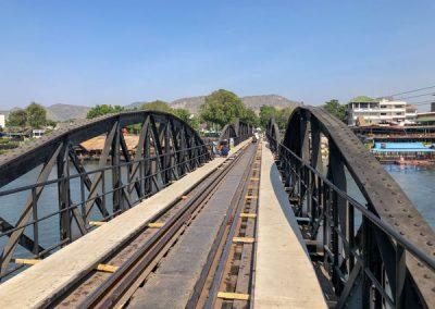 Kanchanaburi Brücke über den Kwai