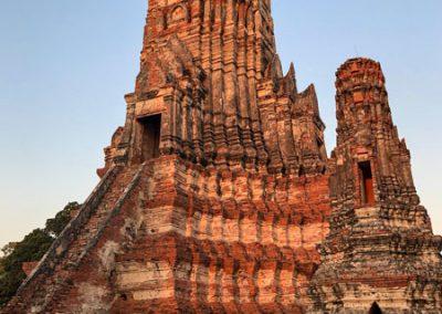 Ayutthaya - Wat Chai Watthanaram - zentraler Prang