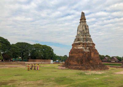 Ayutthaya - Wat Chai Watthanaram - Chedi