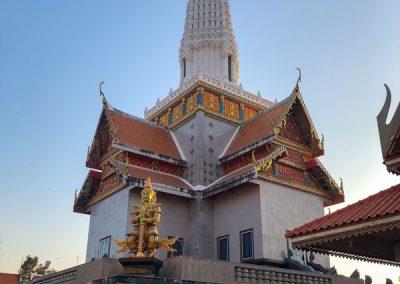 Ayutthaya Wat Phutthai Sawan Außenansicht des Zentrums