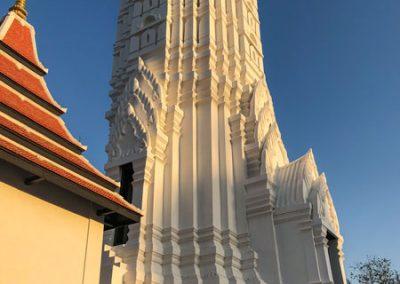 Ayutthaya Wat Phutthai Sawan - Zentraler Prang