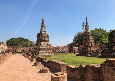 Ayutthaya Wat Mahathat - Chedi