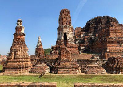 Ayutthaya Wat Mahathat - Prang und Chedi