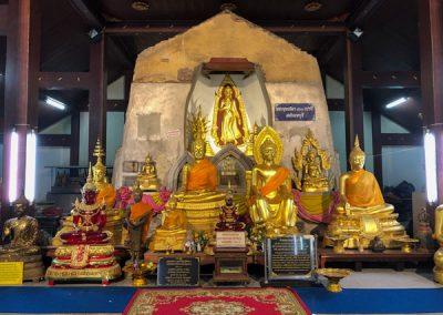 Ayutthaya Wat Na Phra Men - Statuen