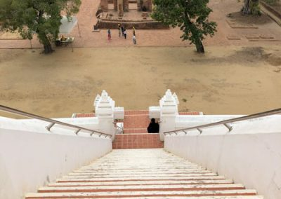Ayutthaya Wat Phu Khao Thong - Blick vom Chedi