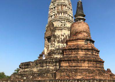 Ayutthaya Wat Ratchaburana - zentraler Prang und Chedi