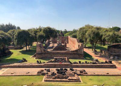 Ayutthaya Wat Ratchaburana - Westseite von oben