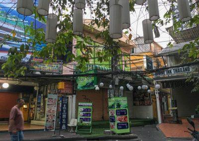 Bangkok - Khaosan Road früh morgens