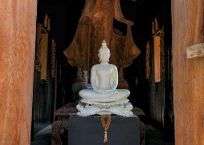 Chiang Rai Black House/Baandam - Buddha-Statue