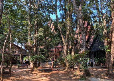 Chiang Rai Black House/Baandam - Gartenanlage
