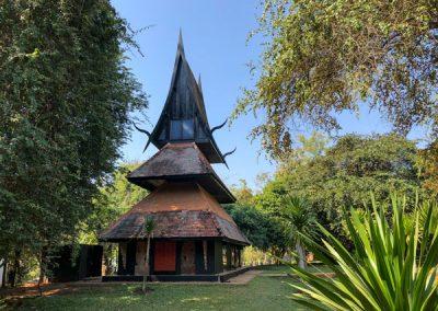 Chiang Rai Black House/Baandam - Gebäude in der Anlage