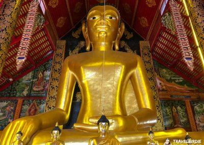 Chiang Rai Wat Jed Yod - Buddha-Statue