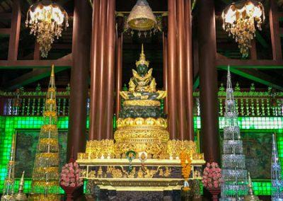 Chiang Rai Wat Phra Kaeo - Smaragd-Buddha im Ubosot