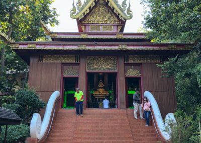 Chiang Rai Wat Phra Kaeo - Eingang
